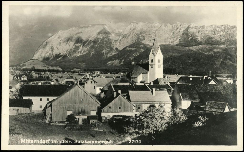 Bad Mitterndorf um 1900