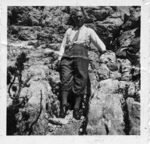 Mein Vater auf dem Kehlstein