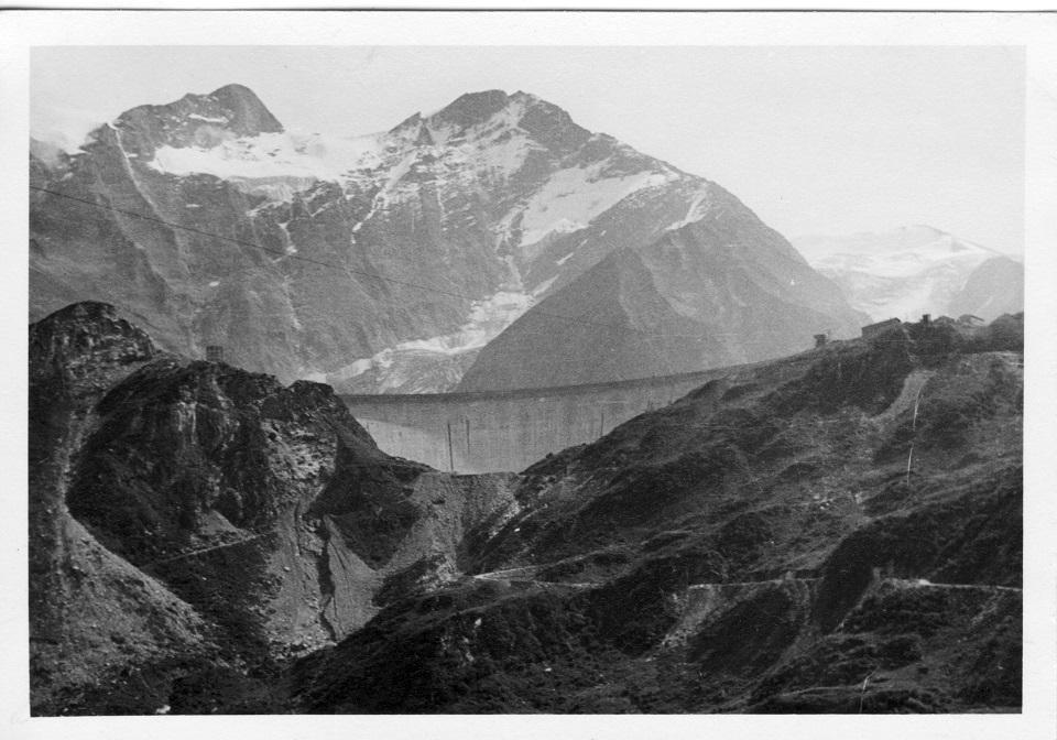 Die Sperre Moserboden im Kapruner Tal