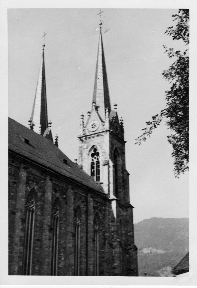 Kirche in Kärnten - muss mich sehr beeindruckt haben.