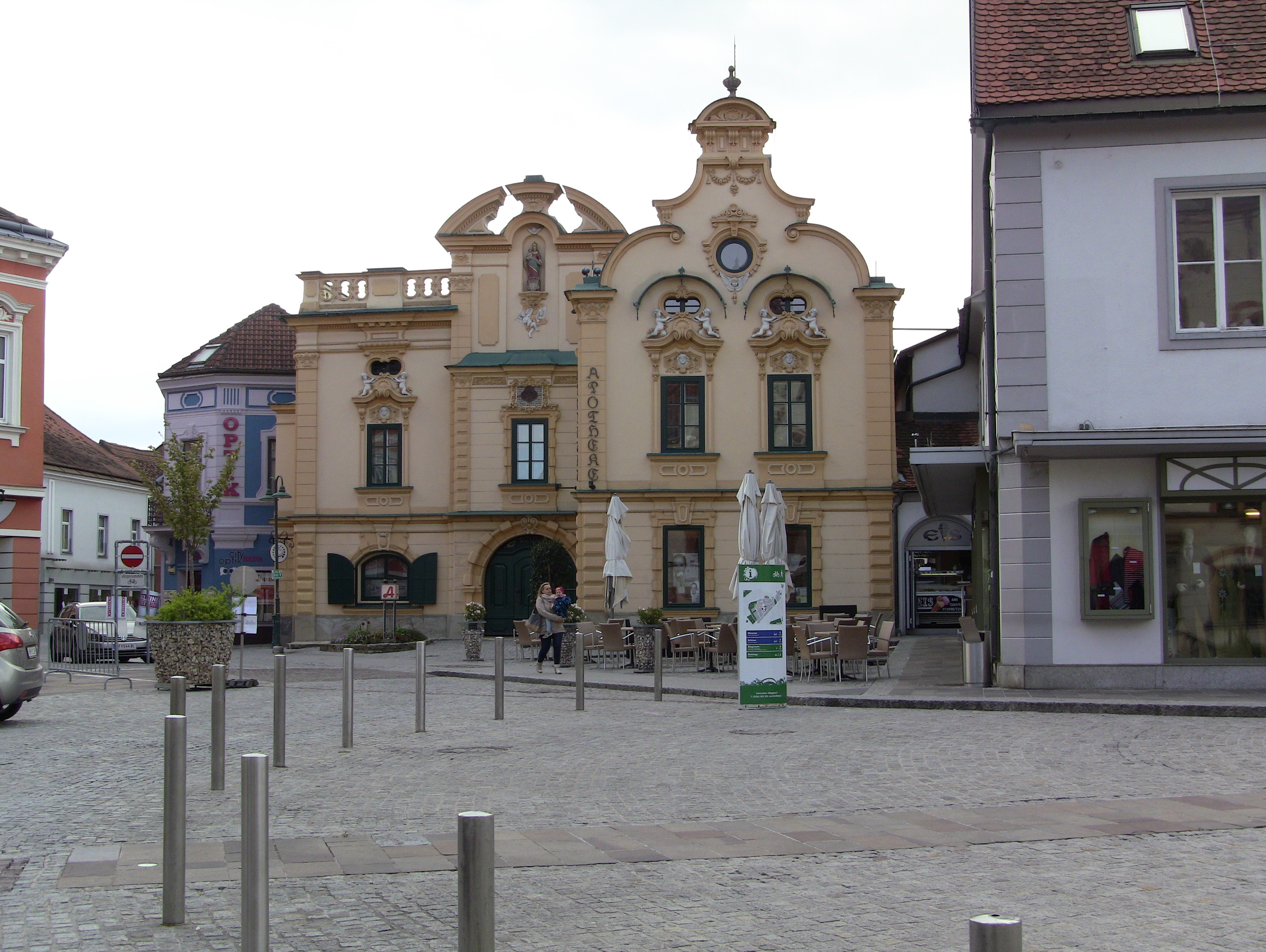 Die alte Apotheke in Hartberg