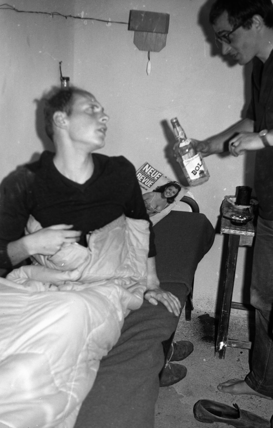 Heini muss trinken!