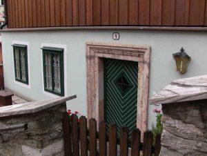 Die Tür zu unserem Traumhaus
