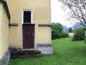 Der Sakristei-Eingang