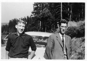Jürgen, Vater und Skoda