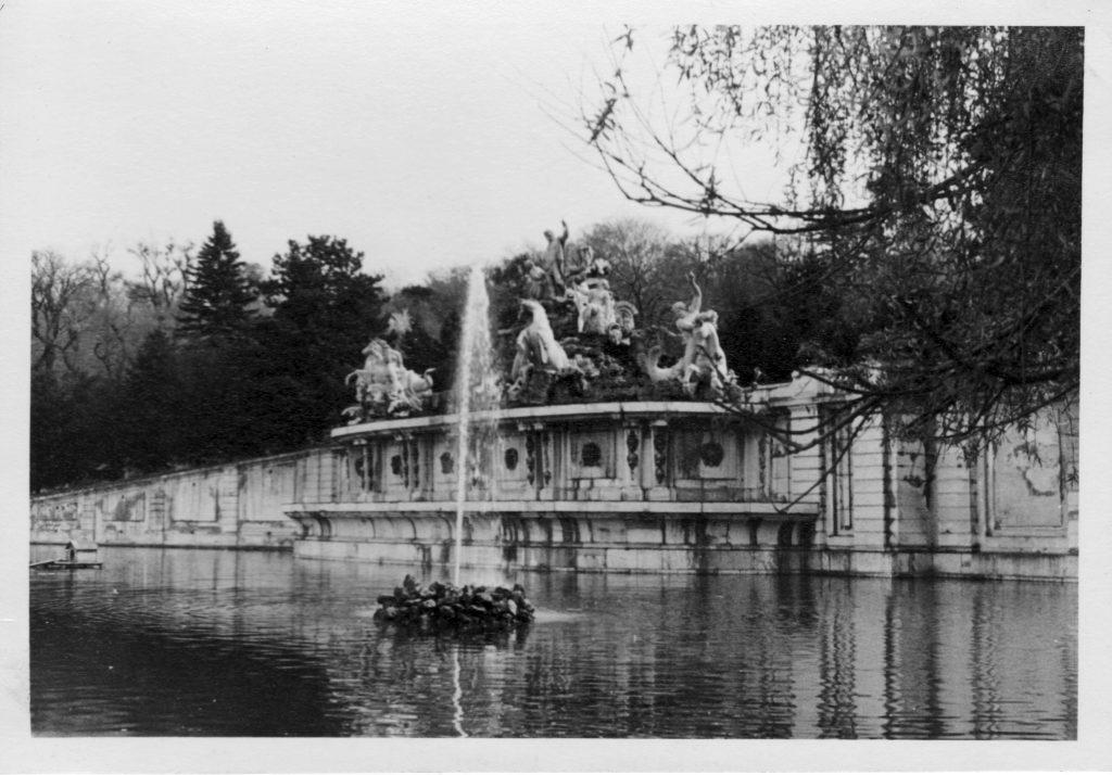 Der Neptunbrunnen in Schönbrunn