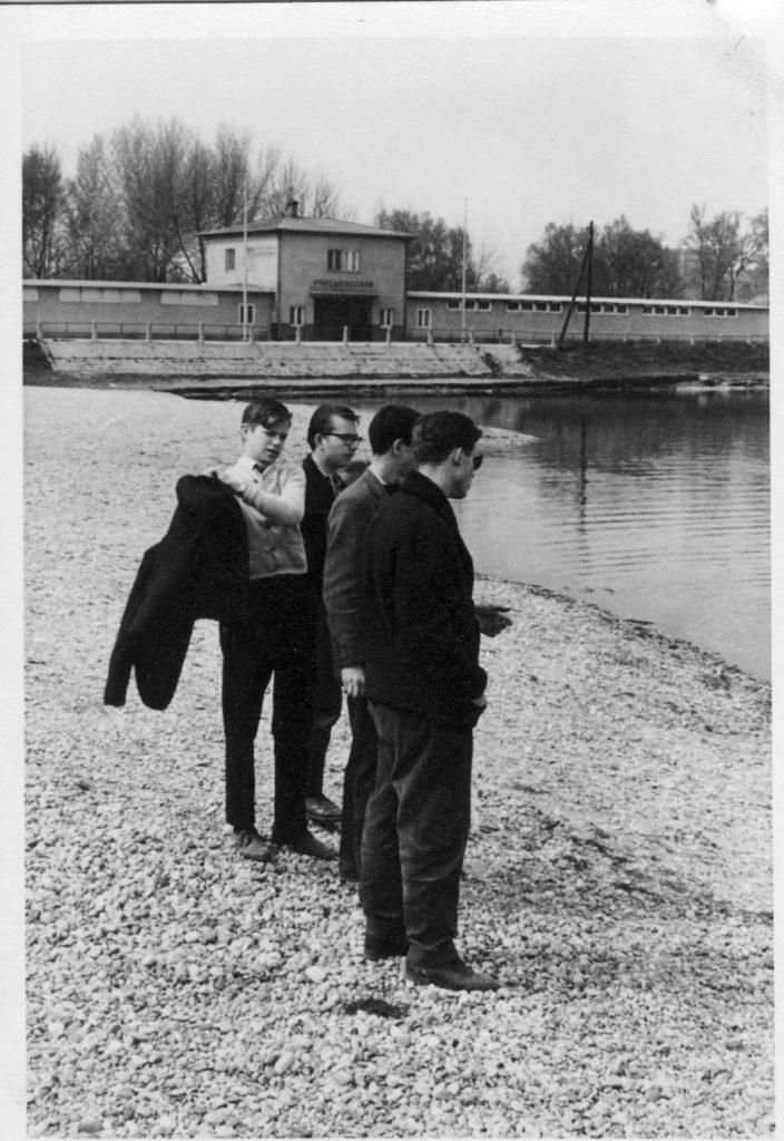 Die Obere Alte Donau - 1957
