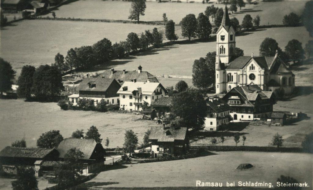 Das Quellgebiet des Weißenbaches.