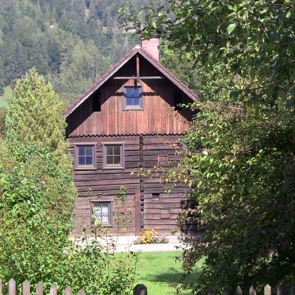 Mein Domizil zur vorakademischen Zeit: Weißenbach bei Haus im Ennstal
