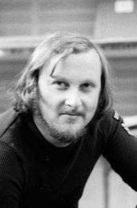 Dieter Dorner bei Ö3, im Juli 1971.