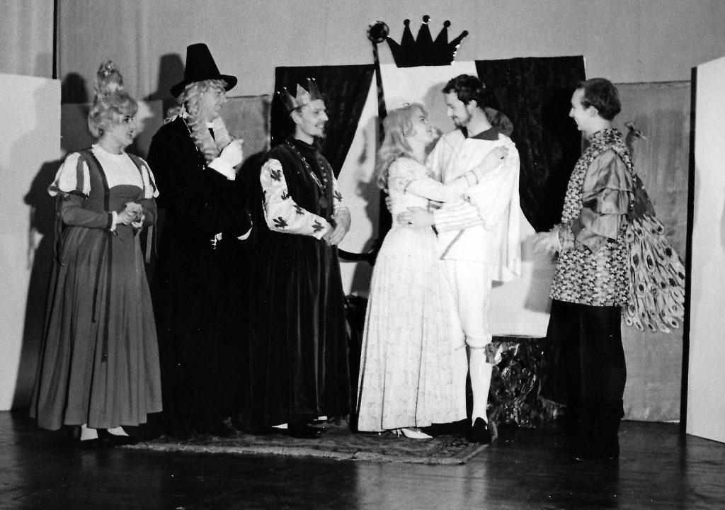 Von links: Elisabeth Wondrak, Karl Absenger, Meinrad Nell, Eva Schäffer, Dieter Dorner,Erich Göller (später Erik Göller)