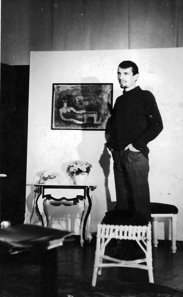 """Paul Hellwig´s """"Flitterwochen"""". Meinrad Nell als Architekt."""