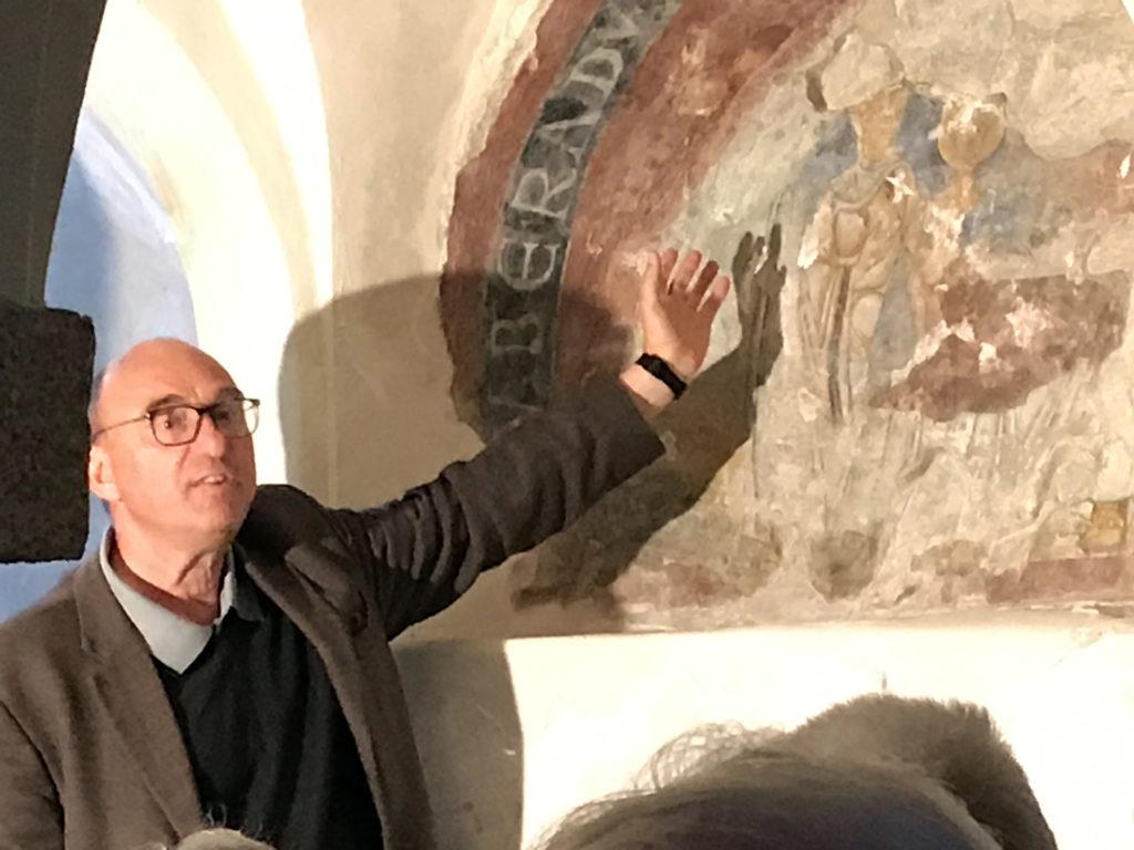 Gunther Knötig, der Sohn der Familie, die aus einer ruinösen unscheinbaren Burg die Sonnenburg des Pustertales wiederauferstehen ließen.
