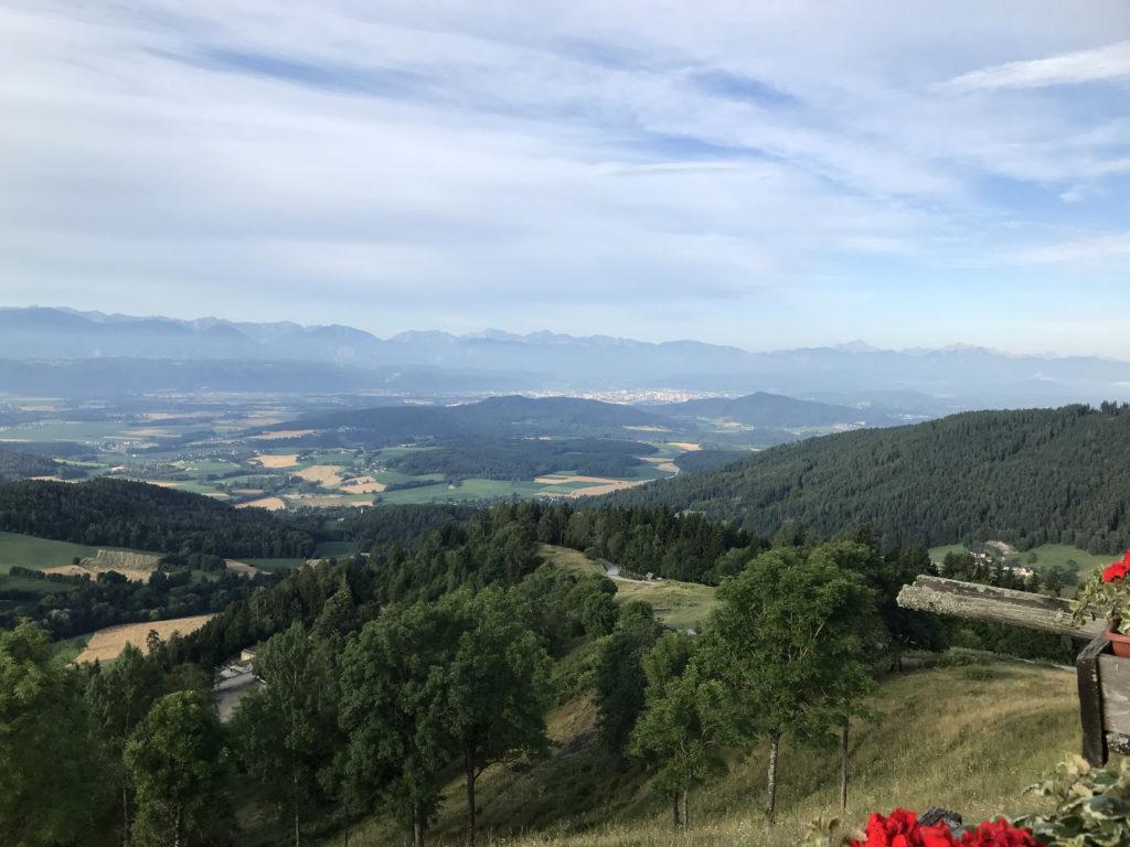 Kärnten, Karawanken, Blick gegen Friaul