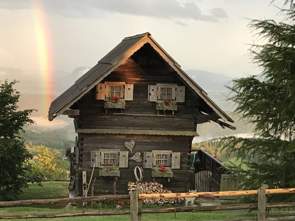 Der Troadkasten mit Regenbogen